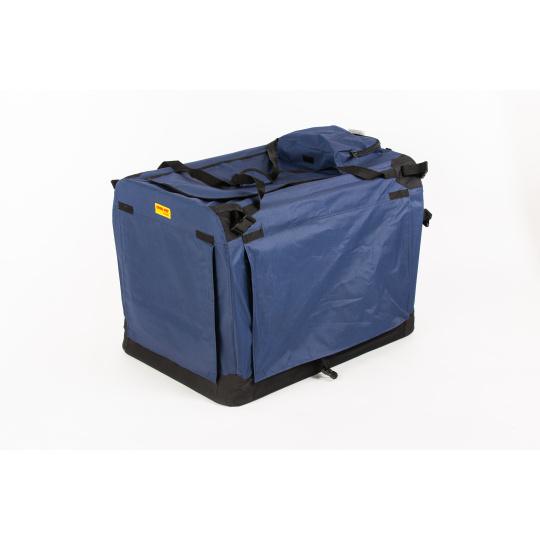 Skládací box,kenelka COOL PET PLUS L modrá 70*52*52 cm