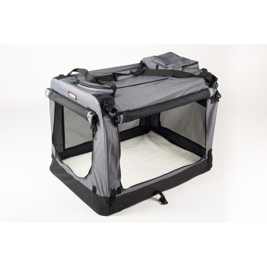 Transportino pieghevole COOL PET PLUS S - 49,5 x 34,5 x 35 cm